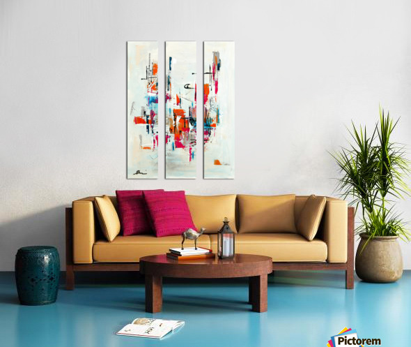 MCM urban VIII Split Canvas print
