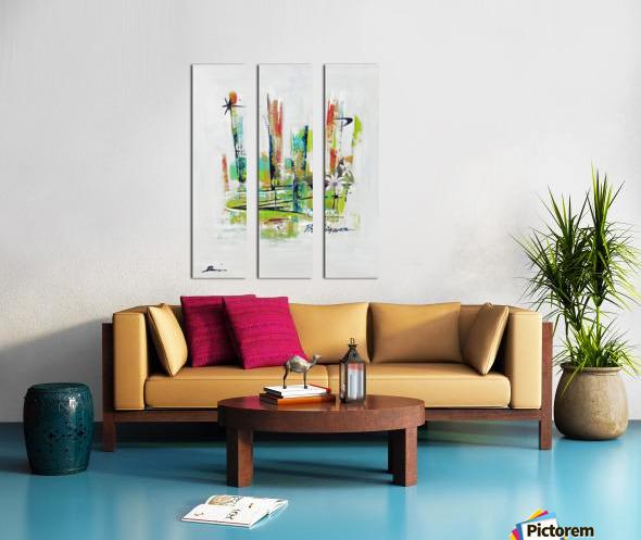 Primavera I Split Canvas print