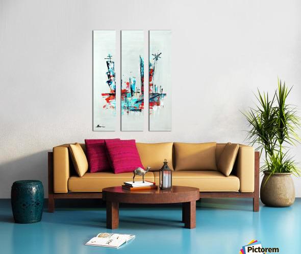 Primavera VIII Split Canvas print