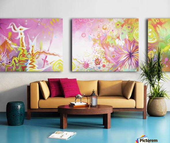 INNER NATURE  Split Canvas print