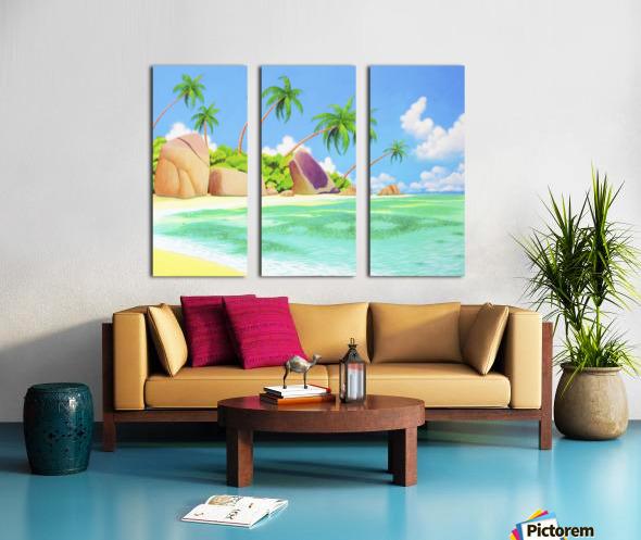 YASAWA  Split Canvas print