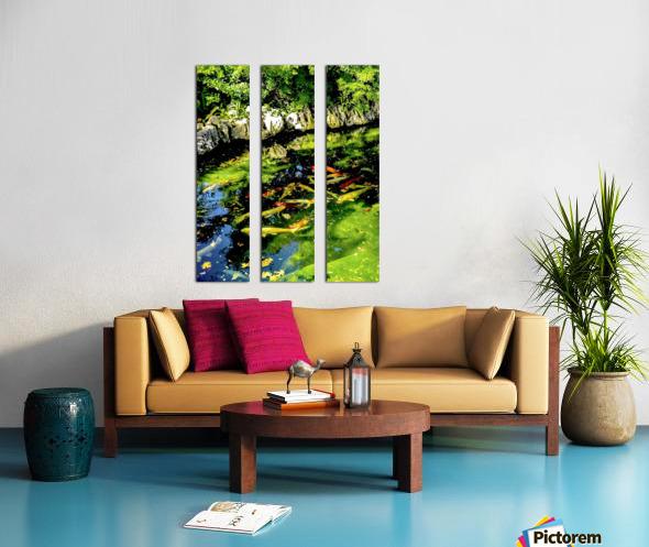 Pound of Color Split Canvas print