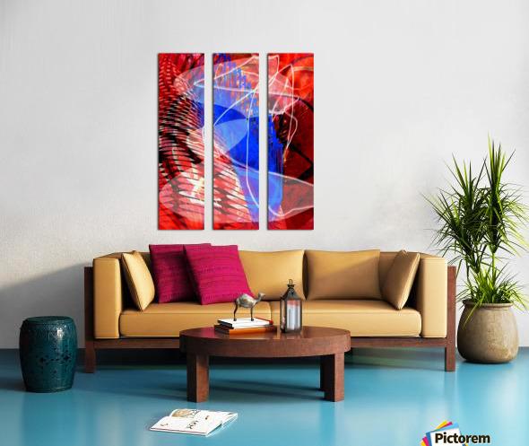 Z I T U Split Canvas print
