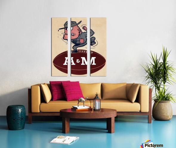 1957 A&M Split Canvas print