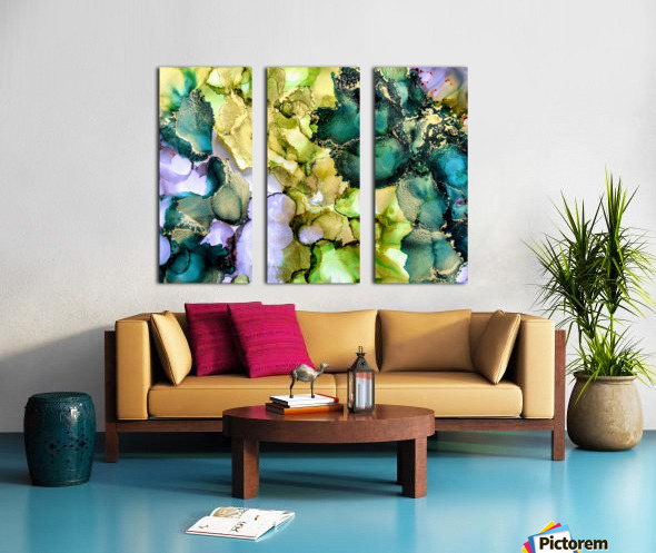 Forest Echoes Split Canvas print