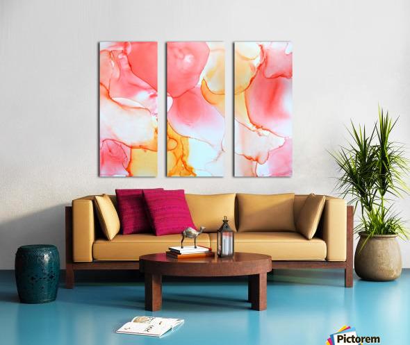 Tangerine Dream Split Canvas print
