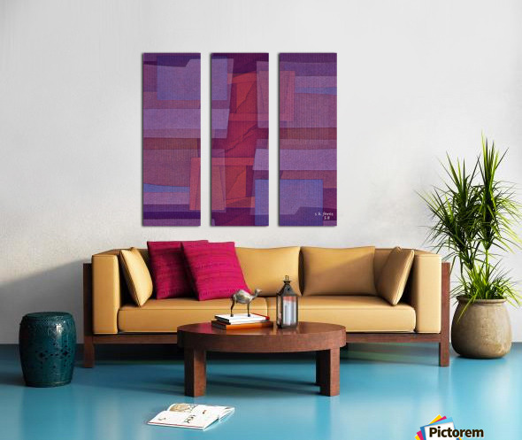 ABSTRACTART04_1594078903.3337 Split Canvas print