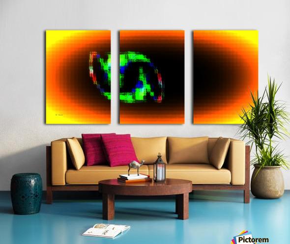 Fractal Design 16 Split Canvas print