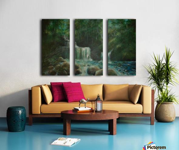 falls Split Canvas print