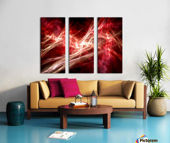 Hidden deep Split Canvas print