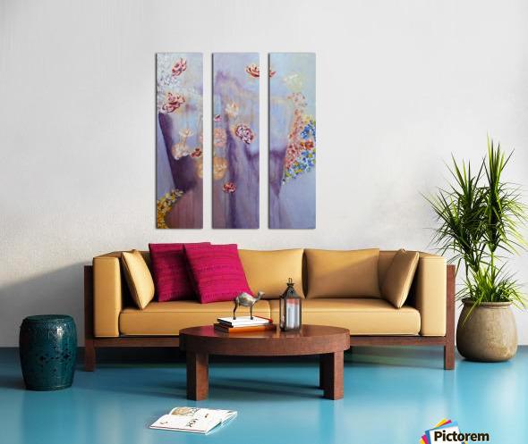 Figure in a  Dreamscape II Split Canvas print