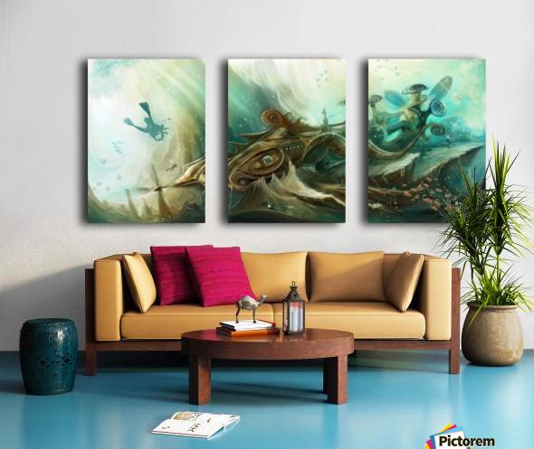 Finding Nemo Split Canvas print