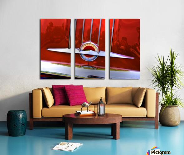 Pontiac Split Canvas print