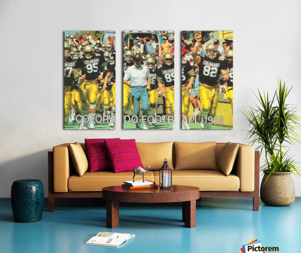 1988 colorado football Split Canvas print