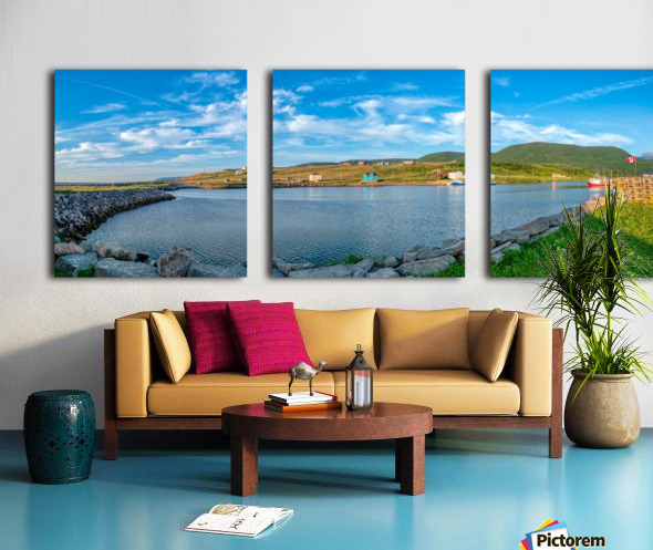 Grand Etang Harbour Vista Split Canvas print