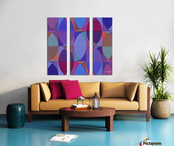 MIXART18 Split Canvas print