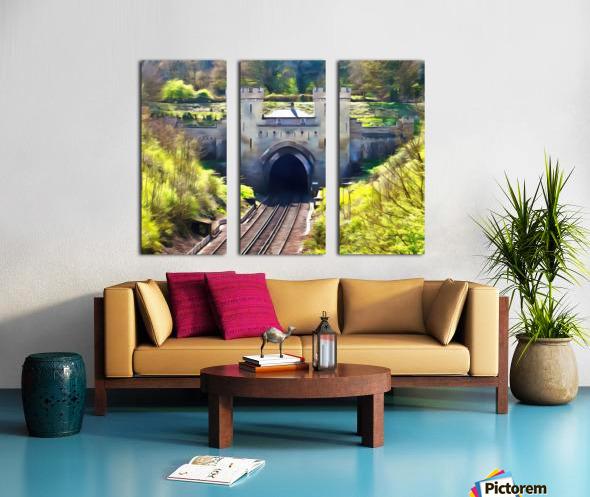 Clayton Tunnel in Sussex England Split Canvas print