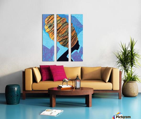Wrapped to Heaven Split Canvas print