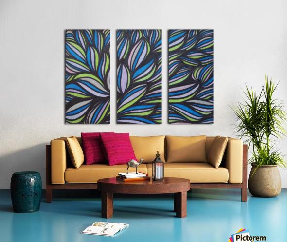 Caspia  Split Canvas print