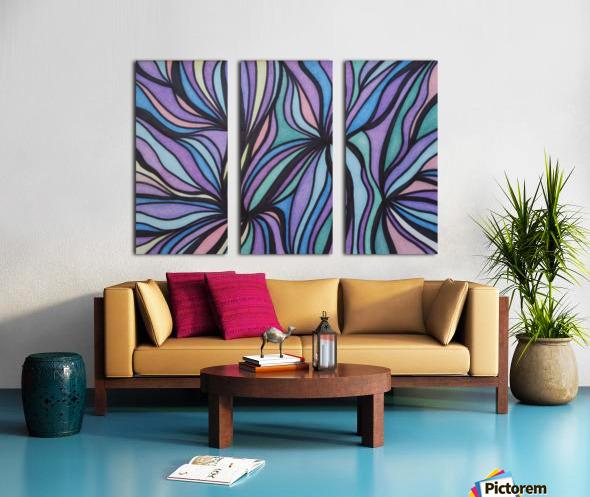 Dorian  Split Canvas print