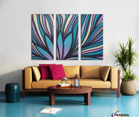 Bellewich  Split Canvas print