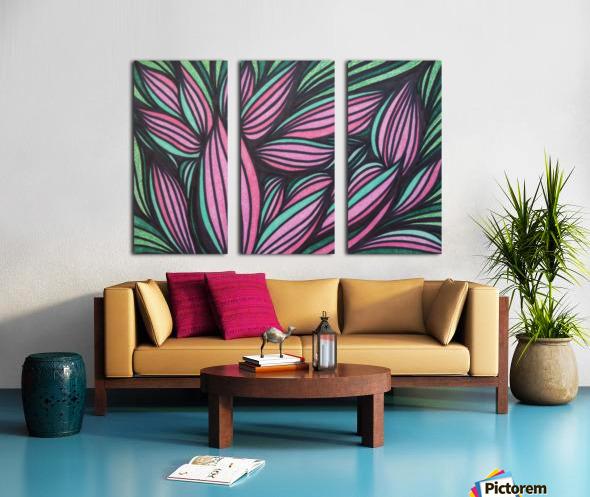 Mazeri  Split Canvas print