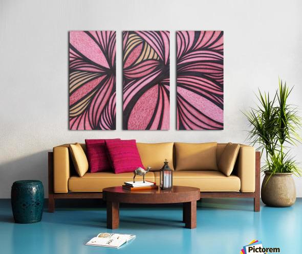 Drake  Split Canvas print