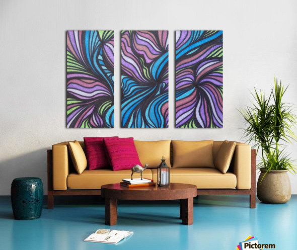 SpiritDust  Split Canvas print