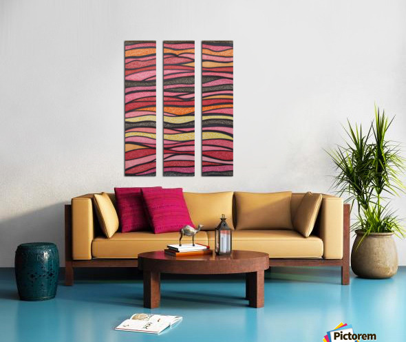 Serenna  Split Canvas print