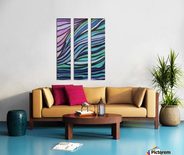 Lone Tide  Split Canvas print