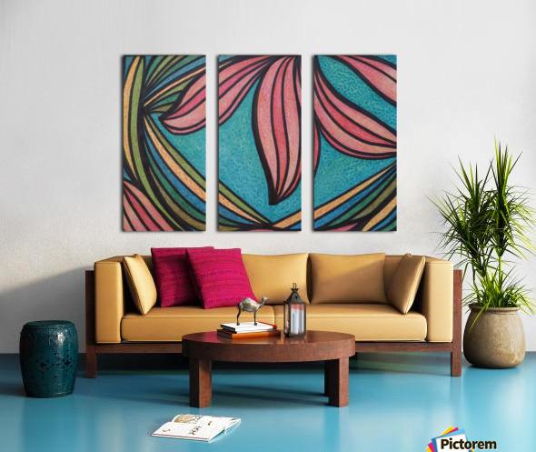 Sirena  Split Canvas print