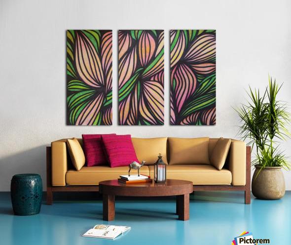 Monroe  Split Canvas print