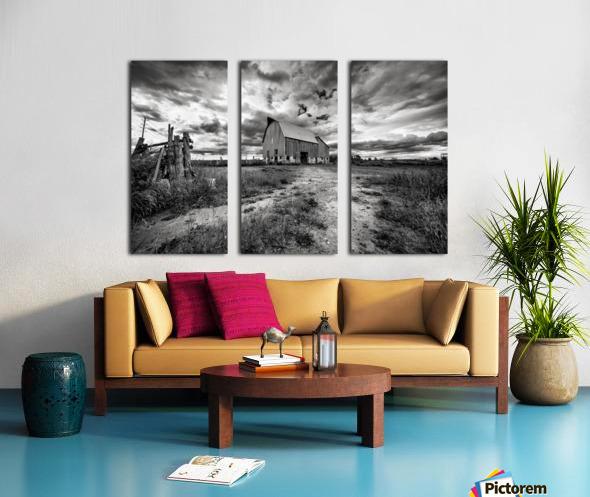 The Barnyard Split Canvas print