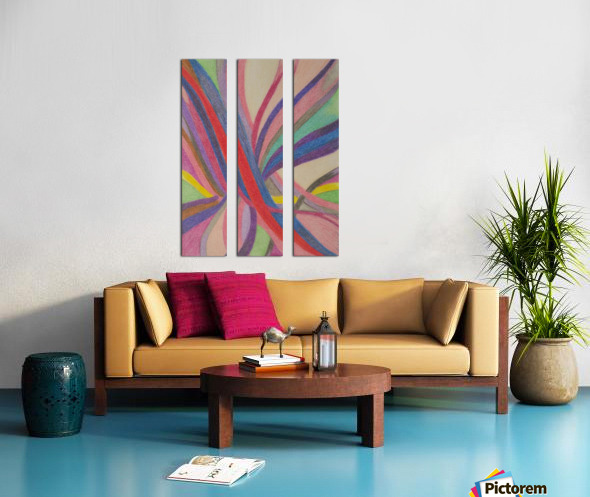 Faye Realm  Split Canvas print