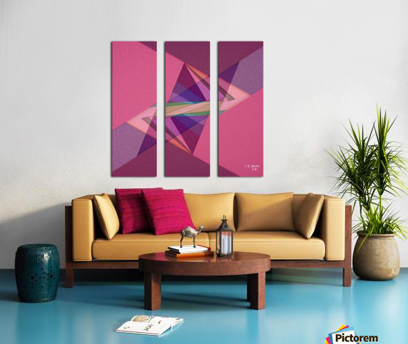 ABSTRACT ART 07 Split Canvas print