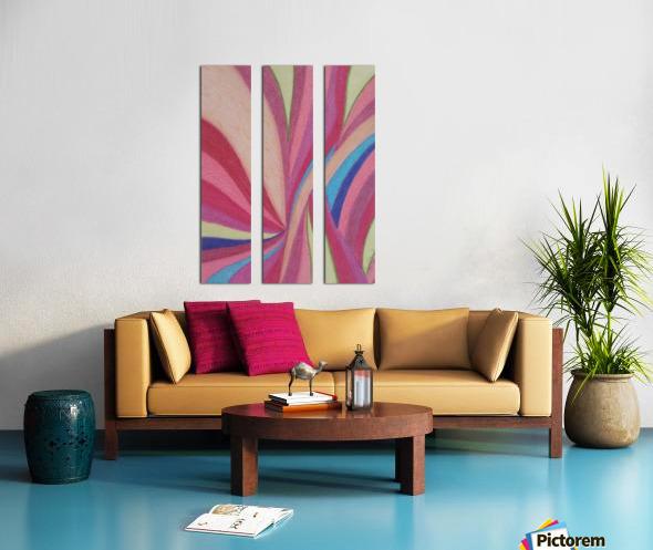 Harmony Haven Split Canvas print