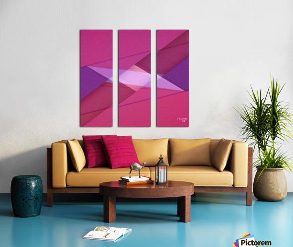 ABSTRACT ART 11 Split Canvas print