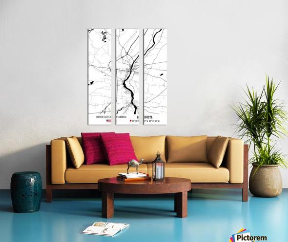 Augusta USA Split Canvas print