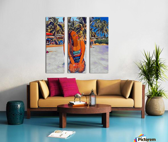 I feel Good Split Canvas print