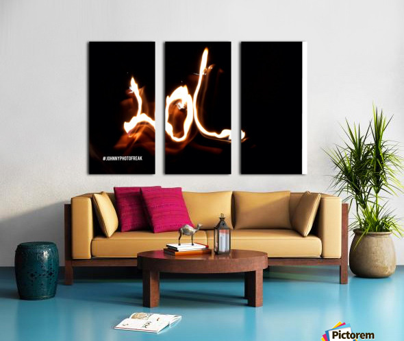 LoL Split Canvas print