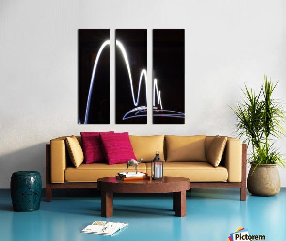 Light Trail  Split Canvas print