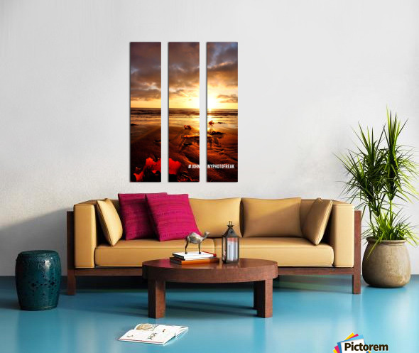 Sunrise fog your decor Split Canvas print