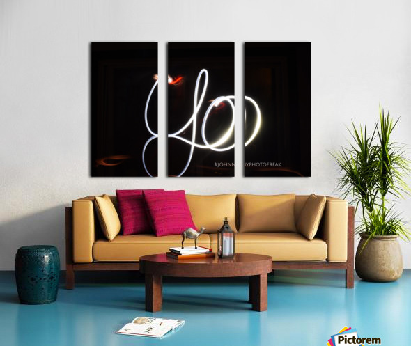 Yo  Split Canvas print