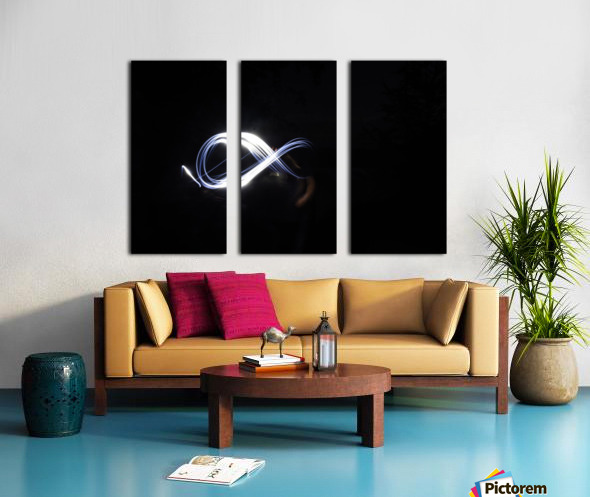 Abstract infinity  Split Canvas print