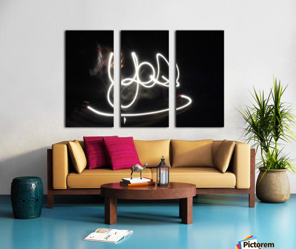 Yes word  Split Canvas print
