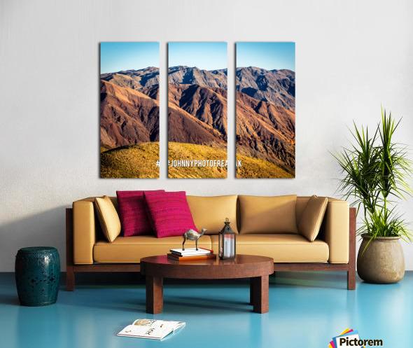 Death Valley Split Canvas print