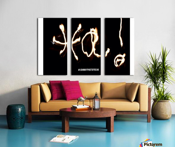Ha   Word  Split Canvas print
