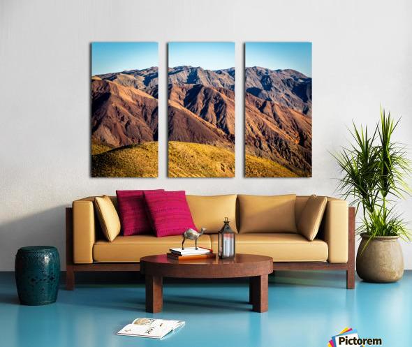 Death Valley mountain Split Canvas print