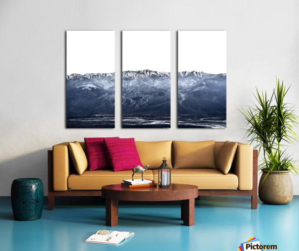 Dantes peak Split Canvas print