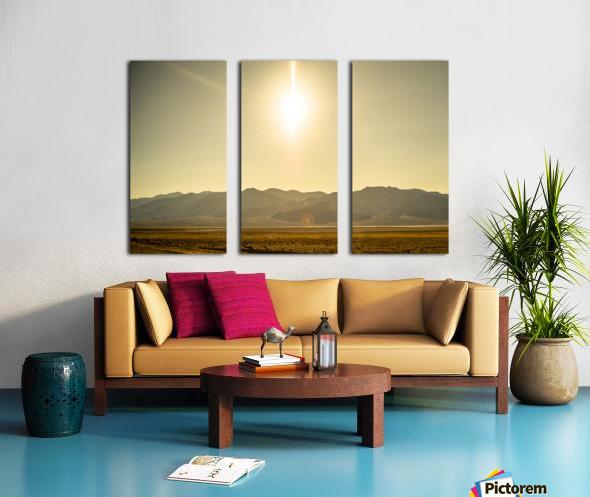 Desert Sun  Split Canvas print